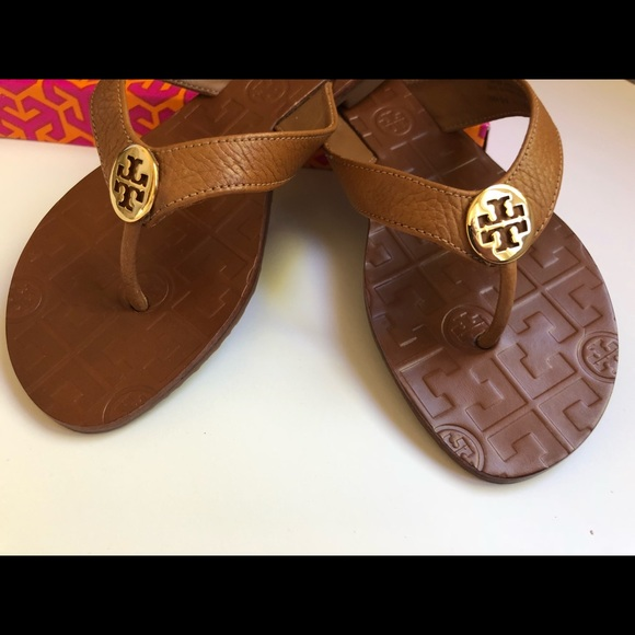 "9370dd8c2 🌟 248 TORY BURCH ""THORA"" THONG SANDALS NWT 8"